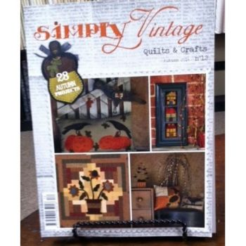 Quiltmania Simply Vintage Quilts & Crafts Autumn 2014 - No 12