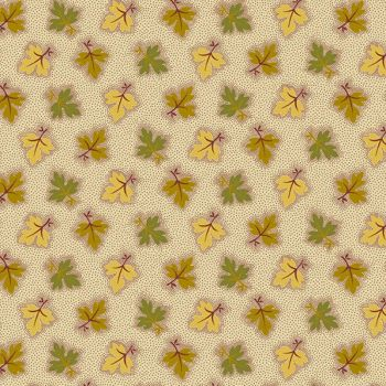 A-8722-RY Gold Green - Oak Leaves