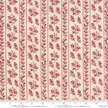 Jardin de Versailles Rouge 13813 13 Red Florals