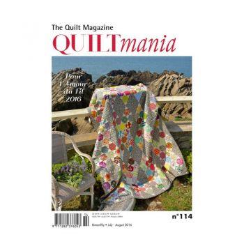 Quiltmania Magazine no. 114 July - August 2016