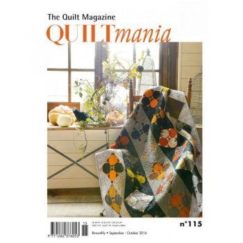 Quiltmania Magazine no. 115 September - October  2016