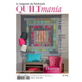 Quiltmania Magazine no. 105 January - February 2015