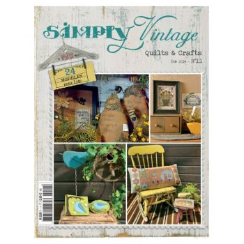 Quiltmania Simply Vintage Quilts & Crafts Summer 2014 No 11
