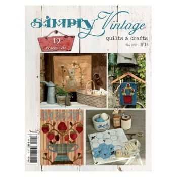 Quiltmania Simply Vintage Quilts & Crafts Summer 2015 - No 15