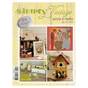 Quiltmania Simply Vintage Quilts & Crafts Summer 2016 - No 19