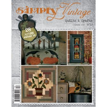 Simply Vintage Autumn 2014 No 12 Magazine