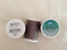 Select Cotton Thread 2-ply 40wt T-27 1000yds Grey