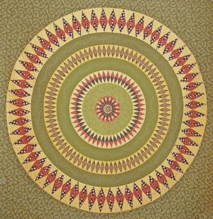 Indiana Rising Sun Pattern